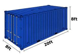 container sizes(1)